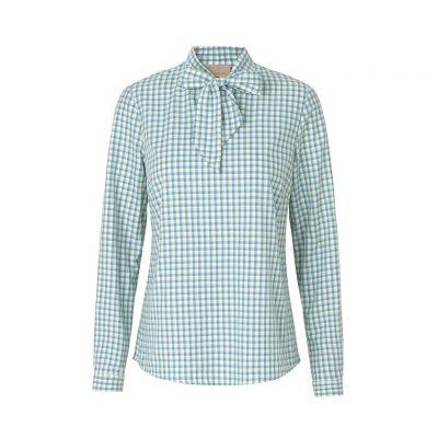 SBC – Berta Bluegreen Checkered Shirt